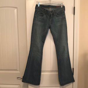 EUC COH Ingrid #002 Stretch Low waist flair 29